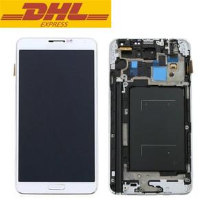 Toptan Frame ile% 100 test edilmiştir Orijinal İçin Samsung Galaxy Note 3 N9005 N900 N900A N900T LCD Sayısallaştırıcı Meclisi