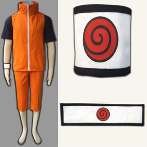 Naruto Uzumaki Naruto Cosplay Costume 3nd version Full Suit Cartoon Character Costumes For Unisex Adult Halloween Party