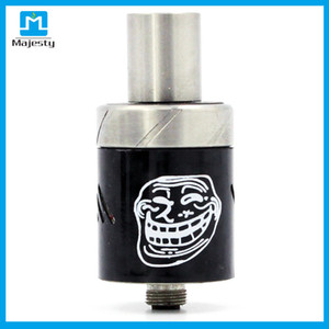 Hottest Smile Atomizer Mad Hatter RDA Drip Tips RDA Electronic Cigarette Atomizer 22mm Colorful Mad Hatter Rda for mod VS dark horse rda