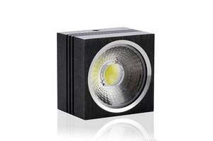 COB precio al por mayor LED downlight 7W 12W regulable 110V 120V 220V superficie montada llevó la lámpara de techo cuadrada llevó la luz del punto