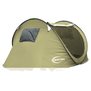 Fast ship Beach tent Outdoors Tents Summer Outdoors Tents 2016 Camping Shelters for 2-3 People Double Aluminum Rod Against DHL Fast Shipping