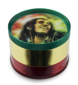 Formax420 2 pollici 50mm 4 strati Bob Marly Herb Grinder Spice Muller Spedizione gratuita