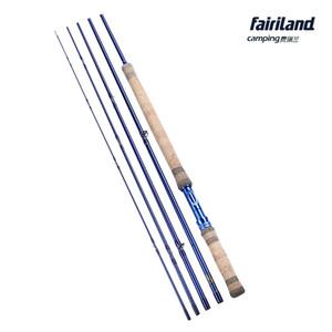 Fairiland 11,3 фута / 3,43 м 6/7 # 7/8 # 8/9 # 5 SEC Fly Fishing Rod Углеродная пресная вода Blue Fashion Design Fly Rod
