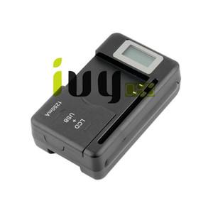 휴대용 모바일 범용 배터리 벽 여행 충전기와 USB 포트 LCD 표시기 화면 + EU / AU / 영국 플러그 휴대 전화 배터리