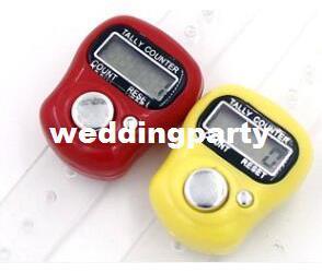 200 adet Mini El Tutma Bandı Tally Sayacı LCD Dijital Ekran Parmak Yüzük Elektronik Kafa Sayısı Tasbeeh Tasbih
