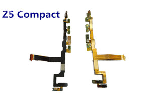 Test Passed For Sony Xperia Z5 Compact mini Power Volume On Off Switch Button Main Vibrator Mic Flex Cable Replacement parts Free Shipping