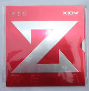 Бесплатная доставка XIOM ZETA настольный теннис резиновые пинг-понг каучуки для настольного тенниса лезвие / весло / летучая мышь