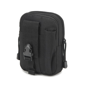 العالمي في الهواء الطلق التكتيكية الحافظة العسكرية رخوة الورك الخصر حزام حقيبة محفظة الحقيبة محفظة حالة الهاتف مع سحاب ل فون / LG / HTC