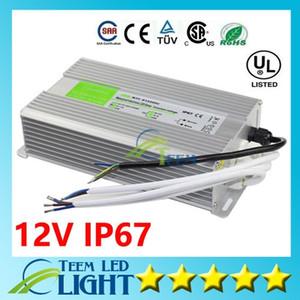Х20 переменного тока 110-240В для DC 12В 15Вт - 200Вт водонепроницаемый IP67 электронный драйвер наружного питания трансформатор адаптер для LED полоски света под водой