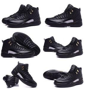 الحرة الشحن A12 جلد طبيعي للماء أحذية كرة السلة الرياضة حار بيع أعلى جودة مصنع المخرج للرجال 12 ماجستير كرة السلة التمهيد