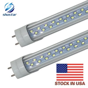 في الاسهم الامريكية T8 LED أنبوب الخفيفة 28W LED لمبة الفلورسنت 192 المصابيح مصلحة الارصاد الجوية 2835 4FT 1200MM AC85-265V UL CE FCC ETL SAA