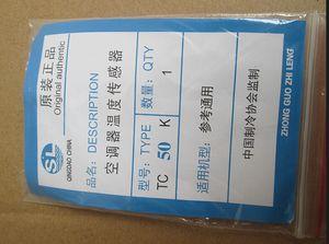 MISTURA 5 tipos 5 K / 10 K / 15 K / 20 K / 50 K Ar Condicionado Sensor de Tubo acessórios de Refrigeração de ar condicionado sensor de temperatura cabeça de cobre térmica