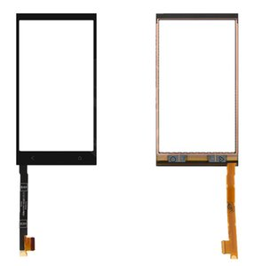 Touchscreen Digitizer Glass Panel Front Glass Lens Sensor for HTC One mini 601n Logo Free shipping+tools