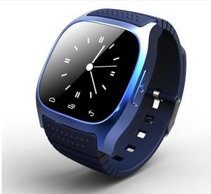 Nuevo Bluetooth Smart Watches M26 para iPhone 6 / 6S Samsung S5 / S4 / Note 3 HTC Android Teléfono Smartwatch para hombres Mujeres Precio de fábrica Envío gratis