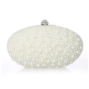 Handbags Wedding Red For 2016 High Pearls Bridal New Women Ivory Cheap Black Diamonds Hobos Quality Arrival Party Clutch EN603 Bags Wqdfi