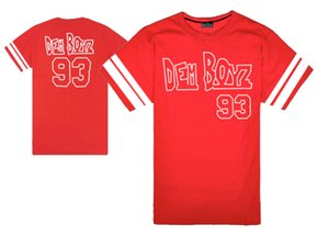 Boyz Rough Roupas T-shirt T-shirt Hop Streetwear Dem Homens Livres Camisetas Hiphop Camisas Tops Moda Cool Tee Masculino nós # 93 frhoi