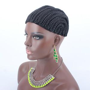 10 шт. Cornrow парик шапки для изготовления парики регулируемый плетеный парик Cap ткачество Cap для Glueless кружева парик решений