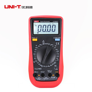 Multimetro digitale Wholesale-UNI-T UT890D True RMS AC / DC Tester di resistenza di corrente