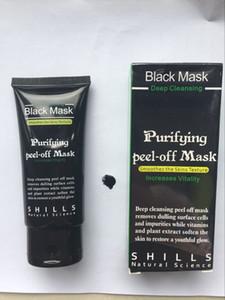 2019 Yeni Shills Peel-off Yüz Maskeleri Derin Temizlik Siyah Maske 50 ml Siyah Nokta Yüz Maskesi Derin Temizlik Siyah Maske Shills