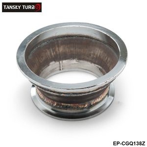 "TANSKY -NEW Adaptador fit 4 ""a 3"" Flange V-Band Para Turbo Carregador cotovelo Downpipe Coletor EP-CGQ138Z"