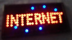 LED- 2016 뜨거운 판매 10X19 인치 실내 울트라 밝은 실행 인터넷 바 네온 빛 사인 간판 도매 주도
