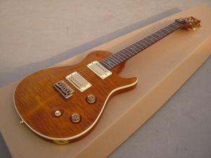Guitare électrique d'OEM nouvelle arrivée RPS, éclat orange, forme de corps spéciale!