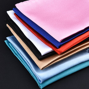 Оптовая сплошной цвет карманное полотенце, мужской свадебный банкетный костюм костюм карманное полотенце, корсаж шарф платок, бесплатная доставка