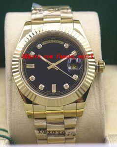 Montres de luxe 2020 Mens Gold Dial 118348 WATCH CHEST 41mm Montre automatique de mode pour hommes Montre-bracelet