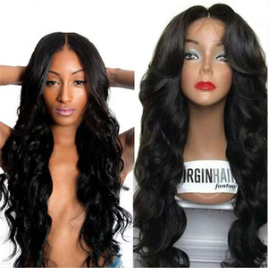 Top Quality Brazilian Full Lace Wigs Human Hair Lace Front Wigs For Black Women Gluless Full Lace Human Hair Wigs With Baby Hair