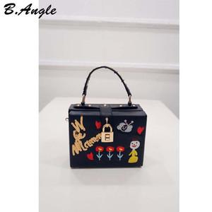 High Quality Flowers and Sweet Heart Little Gir Women Bag Women Messenger Bags Handbag Cross Body Bag Dollar Price