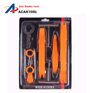 High Quality 12pcs Car Stereo Installation Kits Car Radio Removal Tool Car Radio Panel Door Clip Panel Trim Dash Audio Removal box-packed