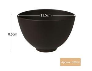 Soft Brown Mask Tools Silicone ETBWP001 Mask Bowl Regolare Beauty Set 4 Film Salon NECESSALE PORTA PRODINE POLVERE ELITZIA Forniture Bowl Color Soft Domf