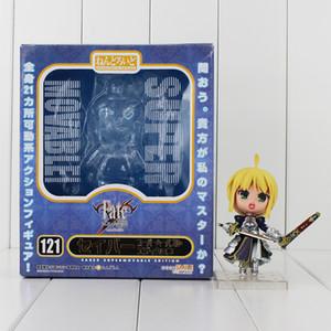 Figura .10cm animado Fate Stay Night Saber acción del PVC Colletable Modelo del juguete del niño del regalo de cumpleaños libre del envío del ccsme