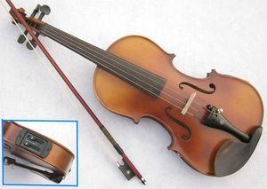 2016 Electric Spruce violino 1/8 1/4 1/2 3/4 4/4 violino artigianato violino Strumenti Musicali Pickup colofonia arco violino