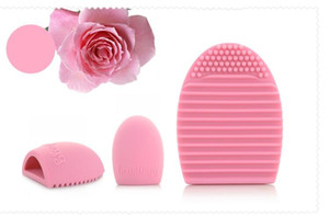 Brushegg Silicone Brush Cleaning Egg Brush egg Cosmetic Brush Cleanser Make up Makeup Brush Cleaner Clean Tools Wholesale
