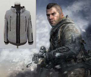Görev Gücü Hoodie Ceket Modern Savaş Hayalet Hoodie Ceket Cosplay Kostüm TF 141 Yüksek Kalite Hediye