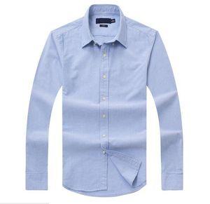 Neuer Vertrieb berühmter Zoll paßt beiläufige Hemden Beliebten Golf Stickerei Geschäft Polo-Shirts Herren Langarm Bekleidung