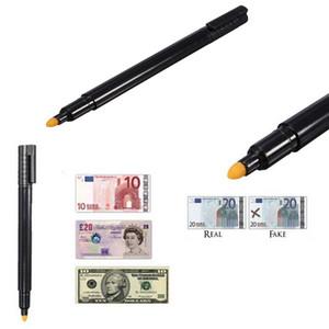 مدقق النقود السوداء للكشف عن العملة المزيفة ماركر الأوراق النقدية وهمية تستر القلم