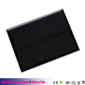 6 V 1.2 W 200 mA Mini painel de células solares policristalino monocristalino 6 V 1.2 W carregador de bateria de célula solar painel Para DIY Kits Solares