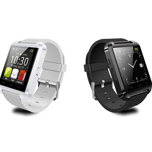 Smart Watch U8 U Guarda gli orologi intelligenti per SmartWatch Samsung Sony Huawei Android Phones Buono con il pacchetto
