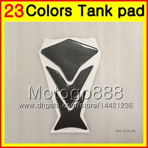 Protector del cojín del tanque del gas de la fibra del carbón de 23 colores 3D para HONDA CBR1100XX Blackbird 1100XX 1996 1997 1998 1999 2000 2001 96-07 etiqueta engomada del casquillo del tanque 3D