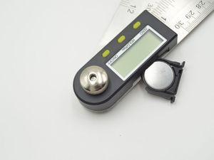 Livraison gratuite 300mm en acier inoxydable rapporteur d'angle numérique goniomètre 360 degrés goniomètre rapporteur numérique