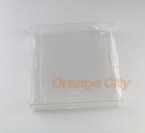 Transparente transparente para Gameboy Advanve Caja de cartucho de juego de color Estuche protector CIB juegos plástico Protector de PET para cajas de juegos GBA GBC