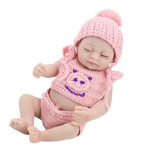 10 Pouces En Silicone Reborn Fille Poupées Réaliste Baby Doll Reborn Collection Bébé Poupées Pour Filles Garçon Réaliste Bébé Jouets