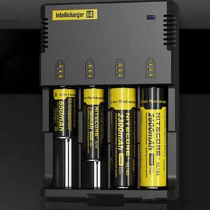 Nitecore I4 Cargador universal e cigarrillos electrónicos cigarrillo cargador de batería para 18650 Cargador + Paquete al por menor envío gratis