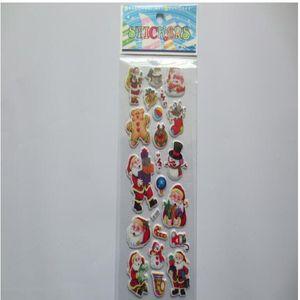Autres Fournitures de Fête Etoiles téléphone Santa Claus Anime Cartoon Stickers Enfants Jouets Cartoon Artisanat Classic Jouets Enfants Noël