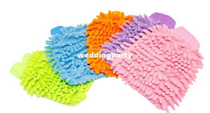 Super Mitt Microfiber Car Window Washing Home Cleaning Cloth Duster Towel Gloves
