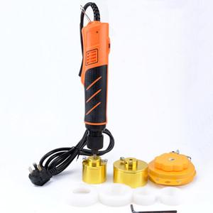 Freies Verschiffen neue Hand kleine elektrische Verschließmaschine automatische Schraubverschluss Werkzeug Flaschenverschluss Abdeckung Deckel Rate Maschine
