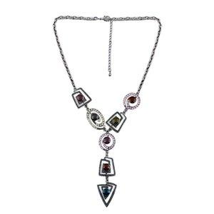 Charm Halskette Damenmode Zubehör Marke Vintage-Schmuck Kette Halskette Schlüsselbein Alloy Großhandelspreis XL00059