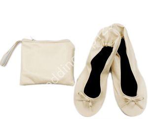 Mode 30 paar Faltbare indoor ballerina aufrollen schuhe Frauen Falten Flache Ballettschuhe Aufrollen Günstige ballerina Schuh